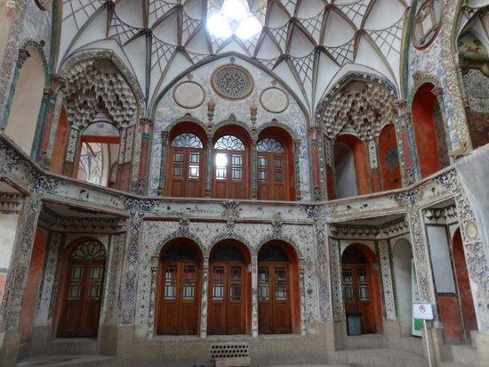 Kashan, Iran: Interni Casa Borujerdiha 3