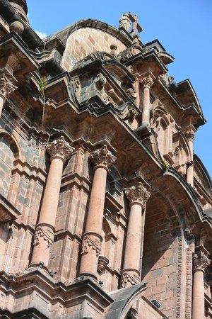 Catedral del Cuzco o Catedral Basílica de la Virgen de la Asunción: Close-up
