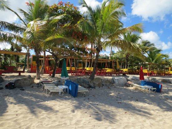 Kali's Beach Bar, SXM