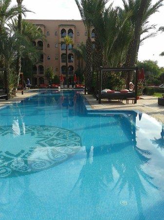 Sofitel Marrakech Palais Imperial : O hotel tem várias piscinas lindíssimas