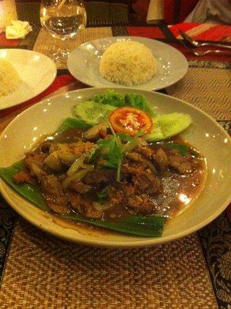 Sweet Dream Restaurant: boeuf