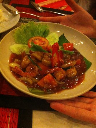 Sweet Dream Restaurant: poulet sweet and sour