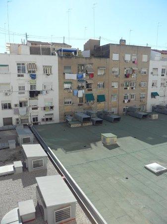 Silken Puerta Valencia: view from 304