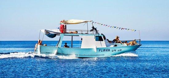 Gita barca Flavia