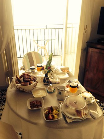 Santa Caterina Hotel: Exceptional room service