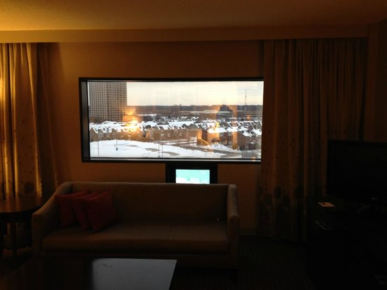 The Westin Southfield Detroit : view out the window