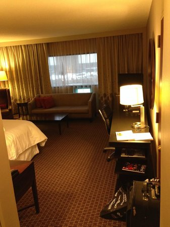 The Westin Southfield Detroit: view when you step in the room