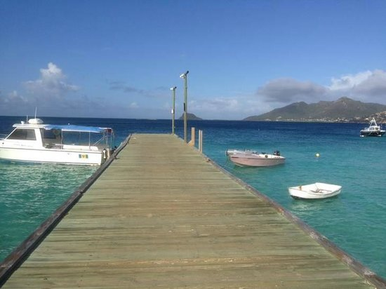 Palm Island Resort & Spa: The hotel's jetty