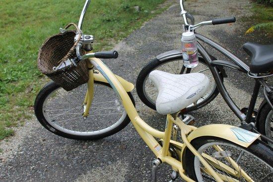 Pentagoet Inn: inn bikes