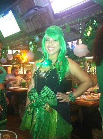 Flanigan's Seafood Bar & Grill: super star server Steph!