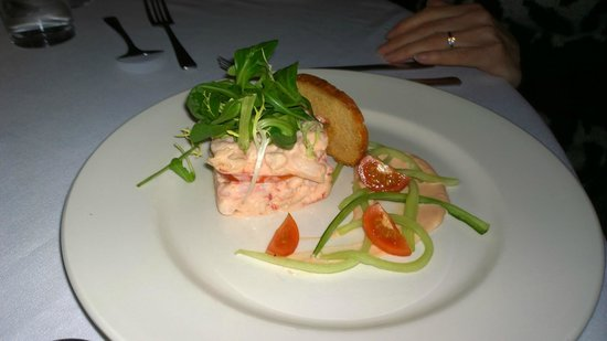 Cheadle House: Prawn & Crayfish starter (Sampler)