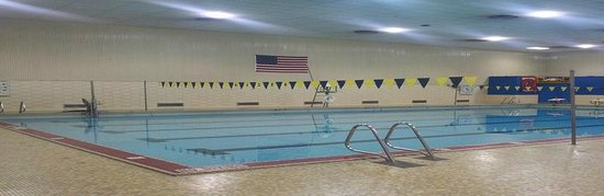 Hazen Pool: Inside of the Pool
