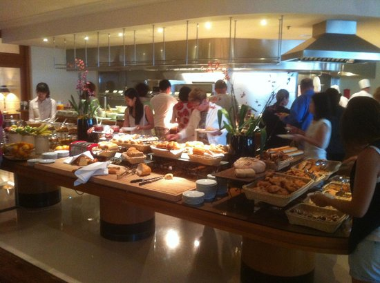 InterContinental Budapest: breakfast