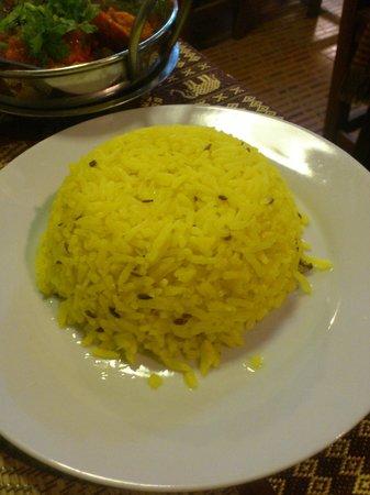 Royal India Restaurant: riz