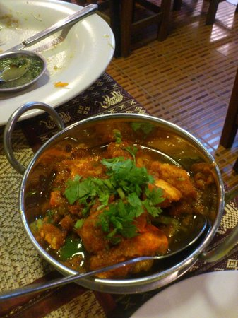 Royal India Restaurant: poulet tikka massal