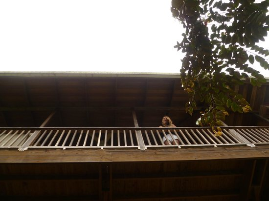 Bambuda Lodge : Balconies on Private rooms.