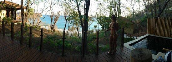 Mukul Beach Golf & Spa : en la habitacion con una vista que no tiene precio