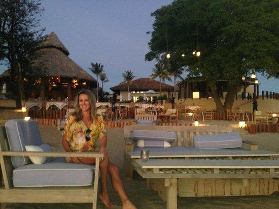 Mukul Beach Golf & Spa : en la arena acompanando al sunset