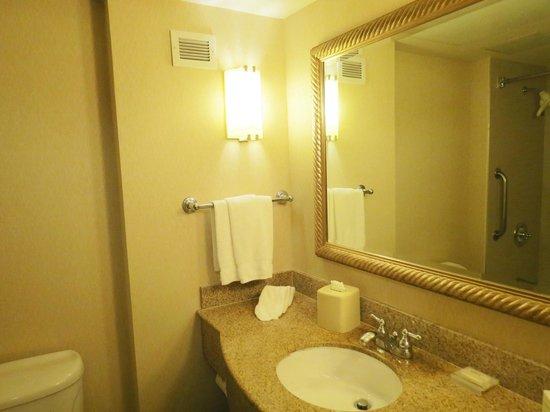 Hilton Garden Inn Carlsbad Beach: Bathroom