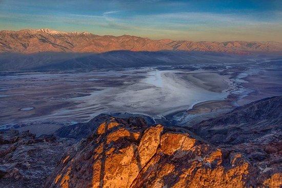 Dante's View: Sunrise HDR
