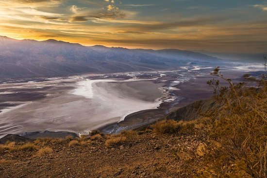 Sunset Hdr Picture Of Dante S View Death Valley
