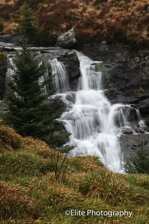 Lochside Guest House : Water fall in Trossachs national Park