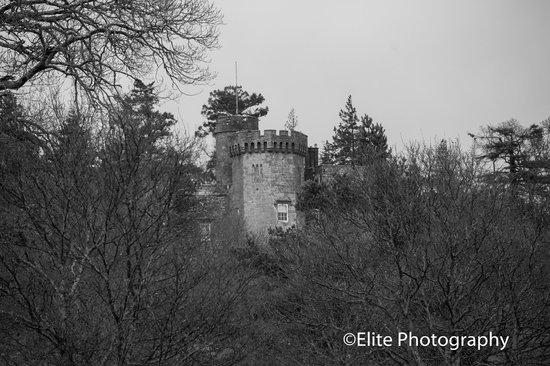 Lochside Guest House : Balloch Castle ruins, Balloch, Loch lomond