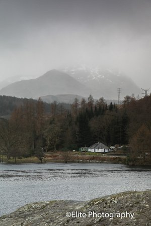 Lochside Guest House: The view from Inverulag on the shores of Loch lomond