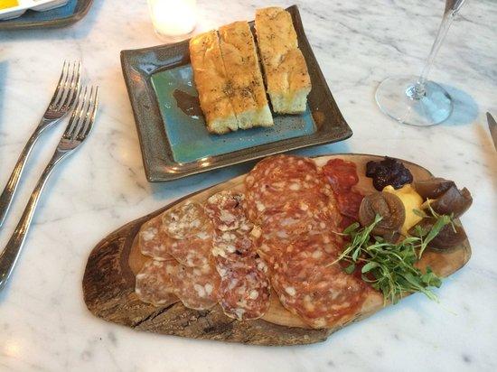 Figue Mediterranean Restaurant : Salume appetizer