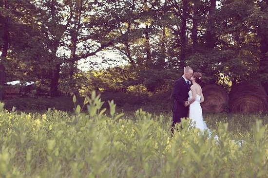 Greenville, WV: Wedding Couple at Creekside Resort in Meadow