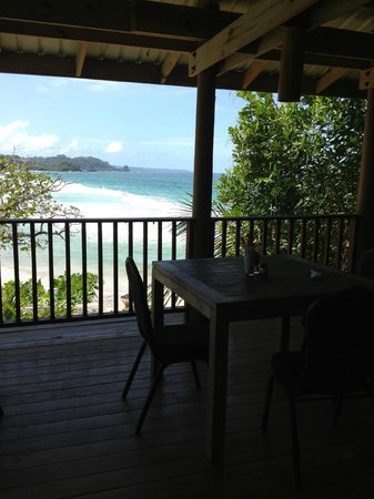 Red Frog Beach Island Resort & Spa: The view from Punta Lava Restaurant on Red Frog Beach