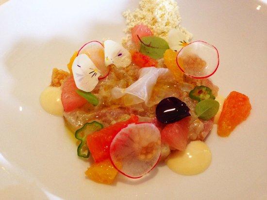 Restaurant Calla's: Tartaar van Zeebrasem