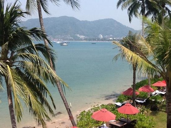 Amari Phuket : the view from our balcony.