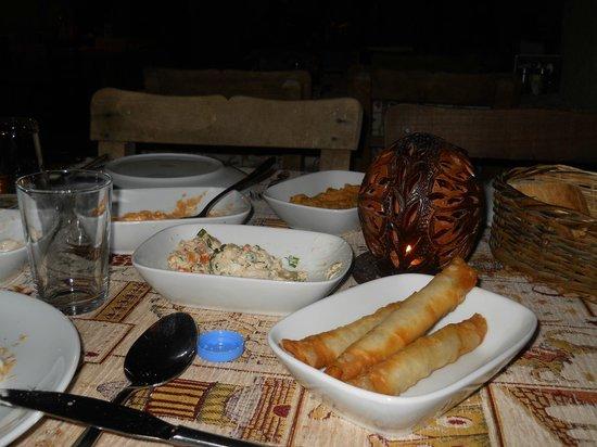Topdeck Cave Restaurant: piatti tipici