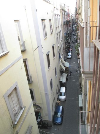 Hotel Il Convento : View of street from balcony of Room 32