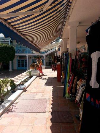 Sol Lanzarote All Inclusive : shops in Matagorda (behind the Spar)