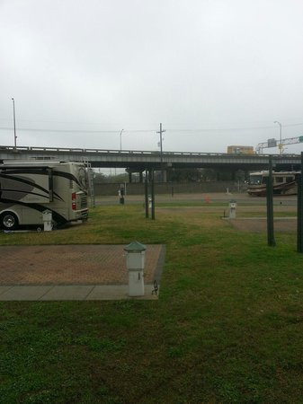 French Quarter RV Resort: Our site at FQRV March 2014.