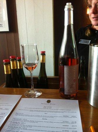 Hermann J. Wiemer Vineyard: wine tasting
