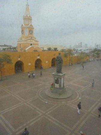 NH Cartagena Urban Royal : Desde la ventana de la habitación.