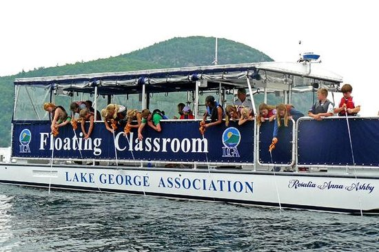 Lake George Association Floating Classroom: You'll learn what makes Lake George unique!