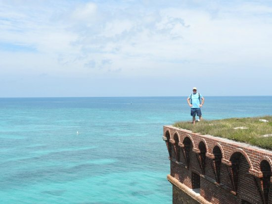 Dry Tortugas National Park: Three stories above the water.