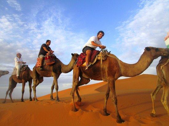 Aoufous, Morocco: Sahara Desert Camel Trips