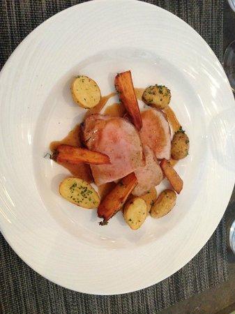 Restaurant Revola : Lomo de porc rôti
