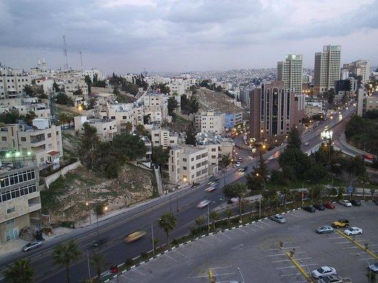 Landmark Amman Hotel & Conference Center : вид из окна моего номера