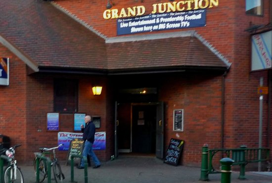 Κρου, UK: Grand Junction pub, Crewe