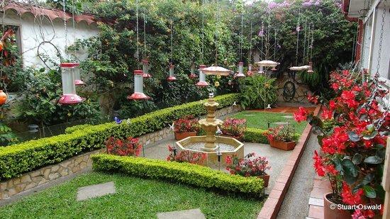 el jardin encantado overlooking to garden from itus far