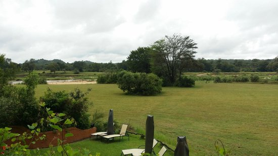 MalaMala Sable Camp: view from the eating area