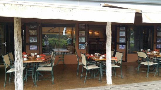 MalaMala Sable Camp: dining area