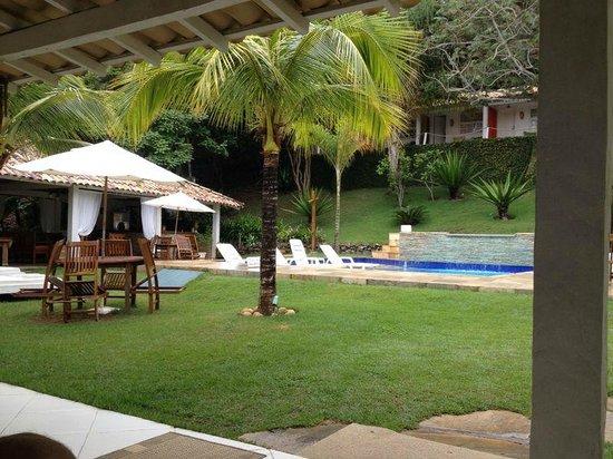 Pousada Bucaneiro: vista piscina,bar y sala de juegos