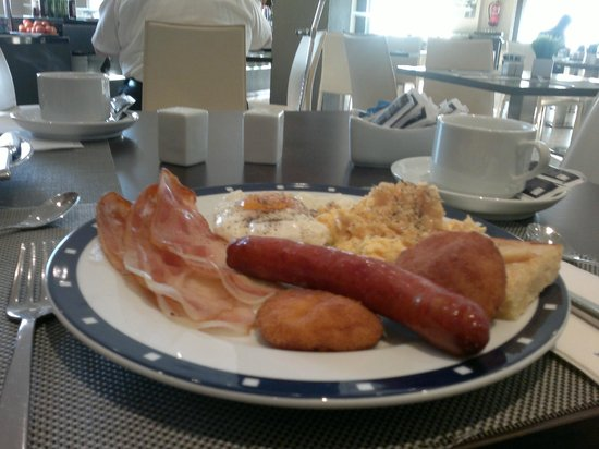 Tryp Malaga Guadalmar Hotel : The sumptuous Breakfast